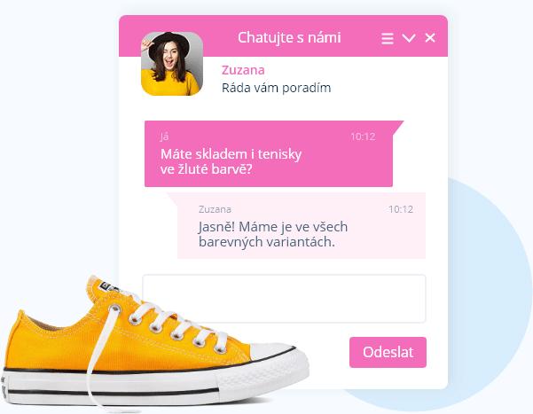 Webový chat od Smartsupp
