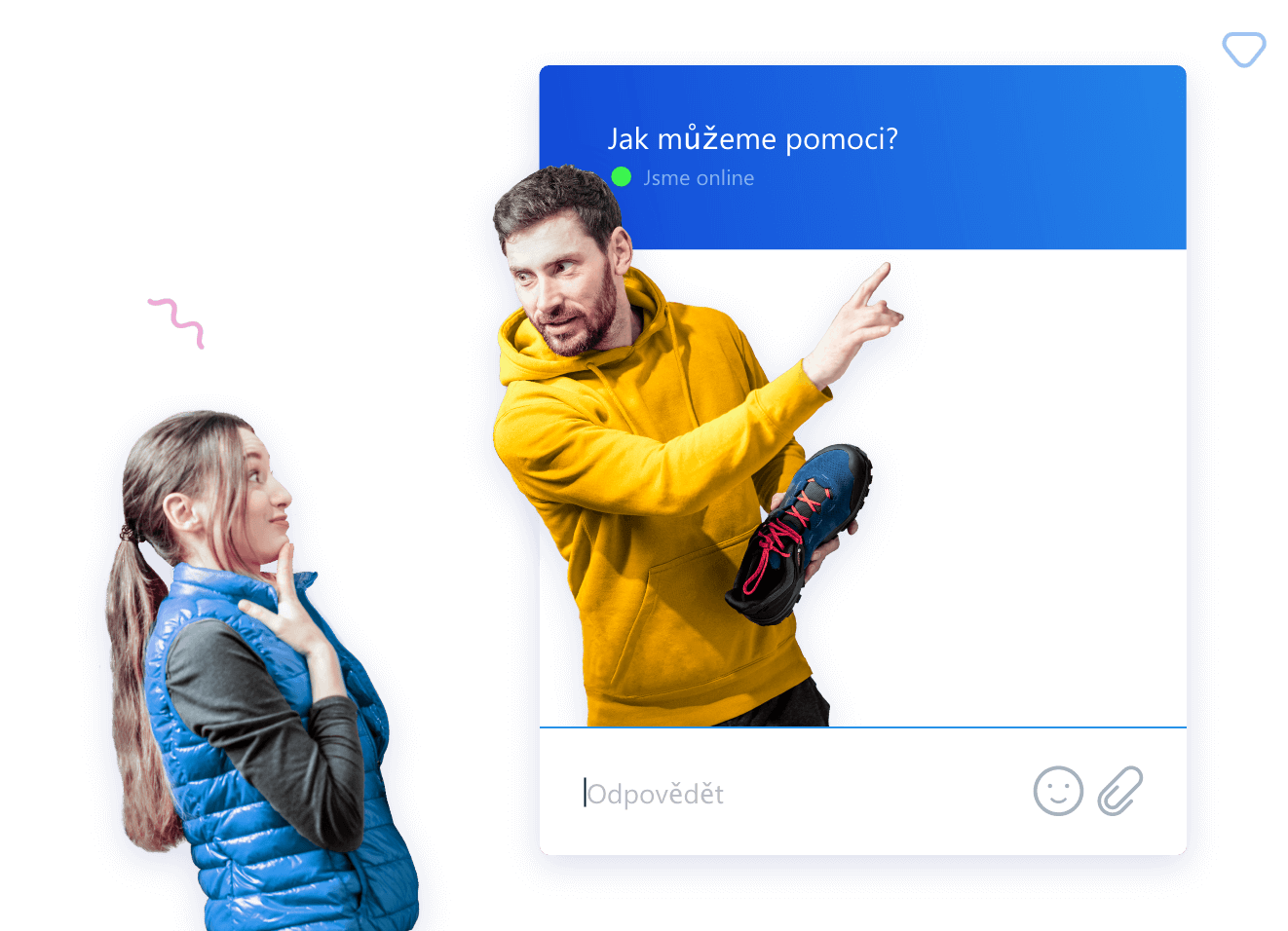 Chatujte s návštěvníky vašeho webu a proměňte je ve spokojené zákazníky