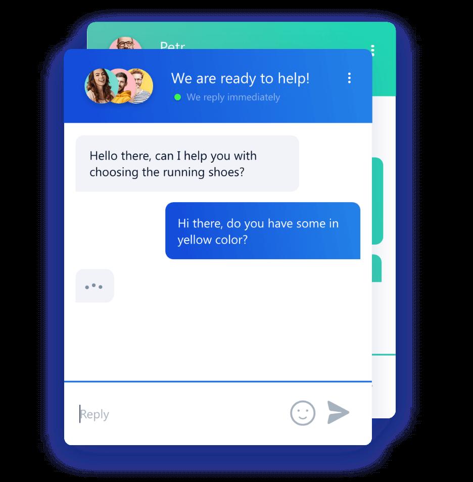 Smartsupp chat box color customization
