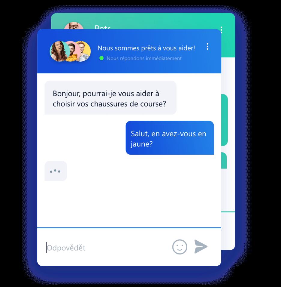 Personnalisation de la couleur du chatbox Smartsupp