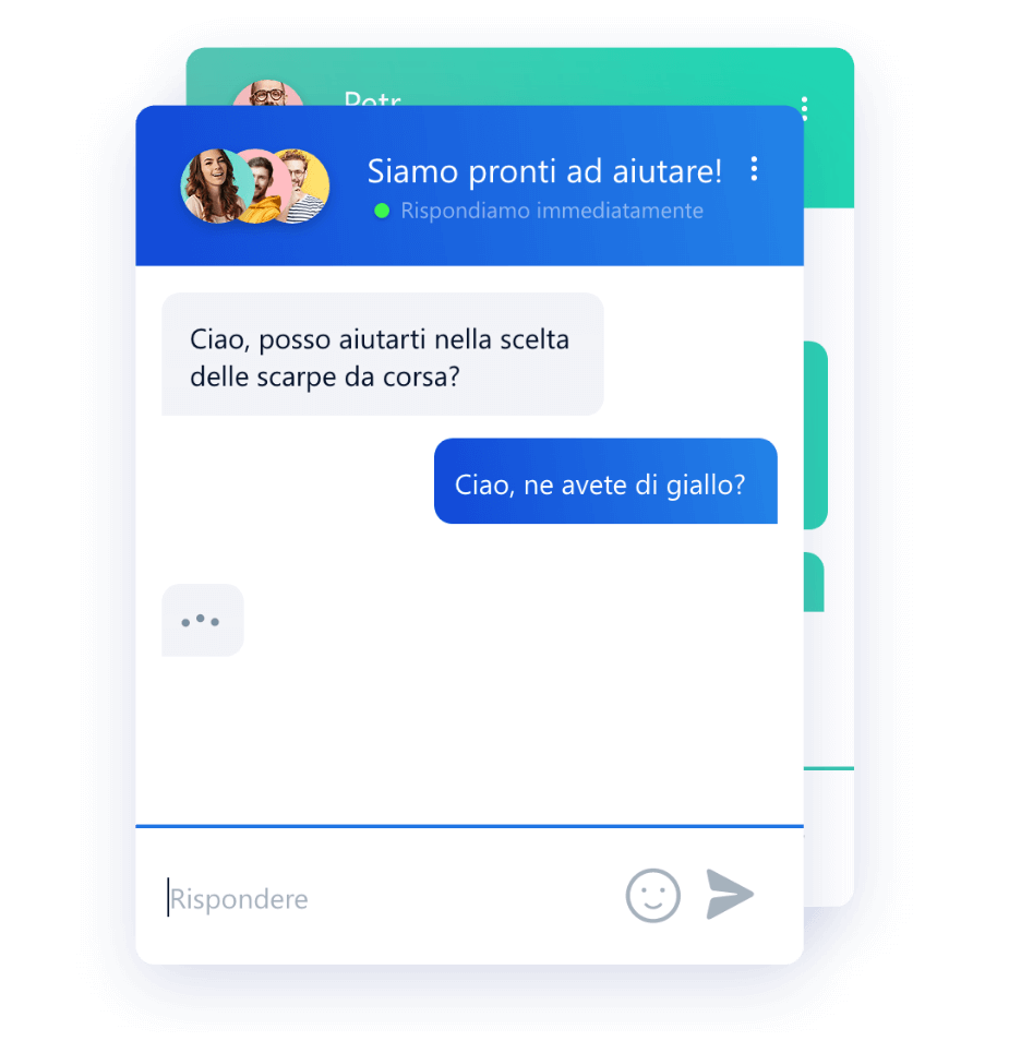 Personalizzazione del colore della chat box di Smartsupp