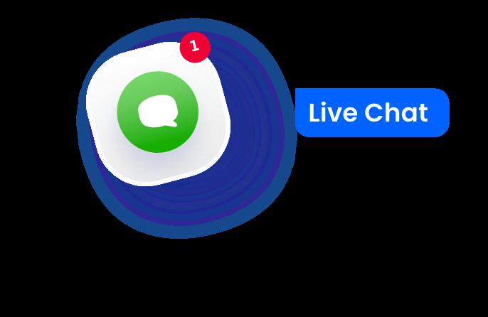 Live chat integration